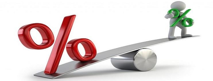 Средняя максимальная ставка по депозитам упала на 4% с начала года