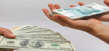 Минфин считает рубль переоценённым
