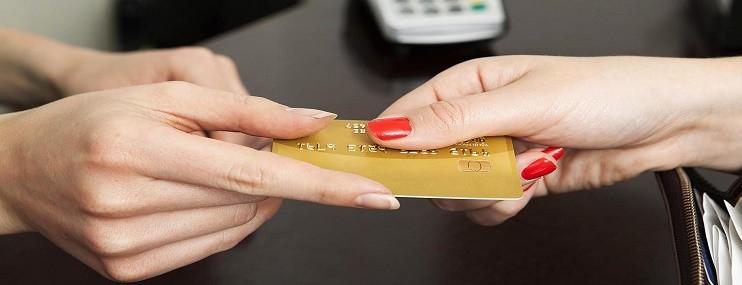 Безналичный расчёт кредитной картой