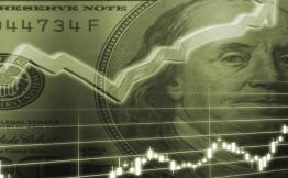 Курс доллара на Московской бирже вырос до 64,5 руб.